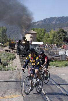 Race the Durango Train to Silverton - Durango, Colorado