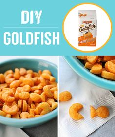 Homemade Goldfish Crackers   27 Classic Snacks You'll Never Have To Buy Again