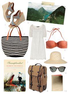 dream packing for a beach getaway...