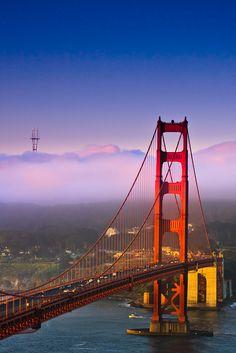 Foggy morning in San Francisco
