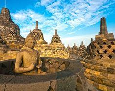 Borobudur, Indonesia, ruins