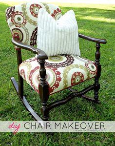 LiveLoveDIY: The Rocking Chair Makeover!