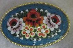 Mosaic pin $22