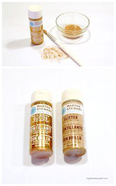 Martha Stewart Crafts | Glitter Acrylic Craft Paint