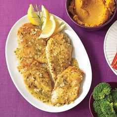 Easy dinner ideas: Garlic Chicken with Rosemary. Quick and low-calorie!