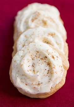 Melt-In-Your-Mouth Eggnog Cookies | Cooking Classy - these are my new favorite holiday cookie! They are AMAZING!