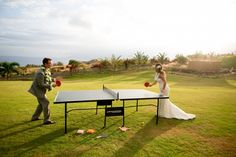 EN437 Ping Pong Table and accessories provided by Wedding Planner Tori Rogers as something special for the couple.  EN459 Wedding cake by Maui Wedding Cakes Photography by Joanna Tano Wedding Planning by Hawaii Weddings by Tori Rogers Flowers by Dellables Rentals by Pacific Isle Rentals Venue Maui Dragon Fruit Farm http://www.hawaiianweddings.net