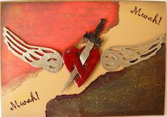 mwah! card by Rachel Walker