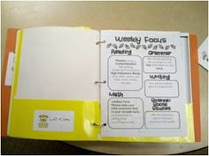 Fun in First Grade: Communication Folders