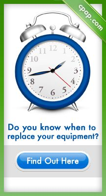 Renew CPAP therapy by replacing worn out equipment. Click on the image above for more information!