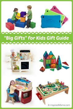 Holiday Gift Guide 2014: Big Gifts for Kids - B-InspiredMama.com #kids #giftguide #kidsgifts #kbn #binspiredmama