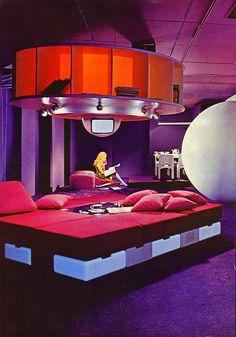 Visiona 1 Futuristic Habitat - Joe Colombo
