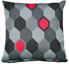 Fan of geometric patterns? Grab this beehive pillow! (http://theprov.in/1eKVXOQ) Re-pin this image for a chance to win a $1,000 gift card to #BoConcept's Vancouver store. Click the image for entry form and rules or visit: http://theprov.in/BoContest