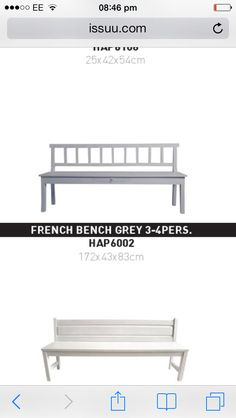HK living bench