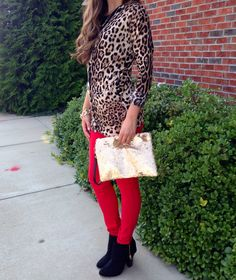 Leopard sweater #swoonboutique