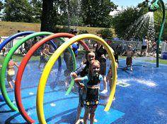 Lyndhurst, NJ, Splashpad | #Vortex, #Splashpad, #happysplashpadder, www.vortex-intl.com