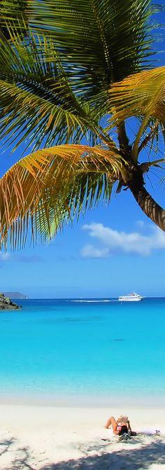 St. John beach. #caribbean