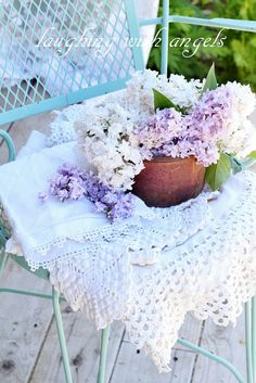 Sweet smelling lilacs...