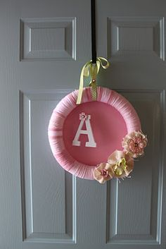 Baby shower on pinterest hospital door sock monkey baby for Baby shower front door decoration ideas