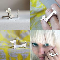 wiener dog ring
