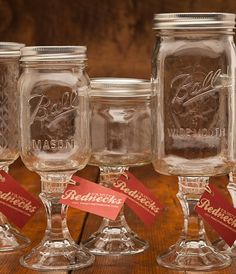 Fancy Redneck Wine Glasses