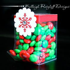 Candy dispenser template pattern
