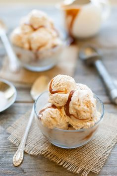 Salted Caramel Ice Cream | thekitchenmccabe.com