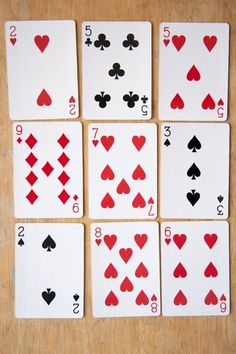 Elevens Card Game Activity - could be played with the number of the day as a center. Remove face cards and students simply look for cards that add up to a certain number, remove and replace with new cards. Easy to differentiate!