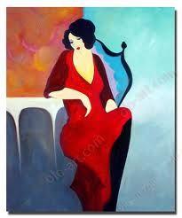 Itzchak Tarkay Painting Art -