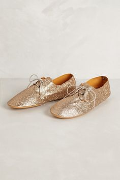 glitter oxfords | anthropologie