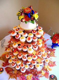 "I want a cupcake ""wedding cake""!"