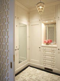 Wood detail door