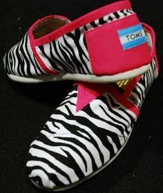 Zebra toms