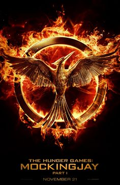 Check out the new logo for The Hunger Games: Mockingjay Part 1… and REPIN if you're excited for #Mockingjay!