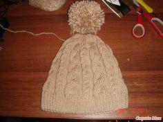 Sombrero con trenzas (con descripción)
