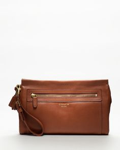 Coach | Legacy Leather Large Clutch