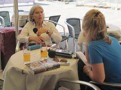 Mystery writer Donna Leon talking to Kerri Miller.