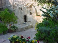 Garden Tomb, Israel, very fond memories of this trip with my mother, Audrey Windels