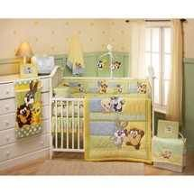 My favorite Baby Looney Tunes crib bedding set for my baby boy's nursery room. Looney Tunes is my favorite baby nursery theme because I loved the the Baby Looney Toons characters on the show when I was a kid.  So, I decided to decorate