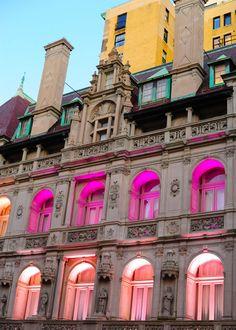 breast cancer awareness month, ralph lauren / New York
