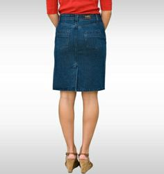 NEW! AA Ladies Denim Skirt  http://www.allamericanclothing.com/made-in-usa/AADSK.html