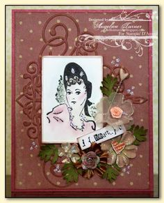 I Heart U!!! Vintage Card