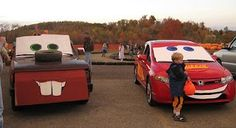 16 ways to decorate your car for trunk or treat