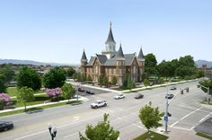 Provo Tabernacle when it's a Temple! Awesome