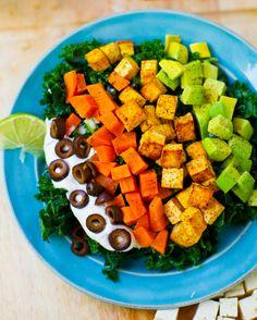 My Mexi-Chopp Salad. - Healthy. Happy. Life.