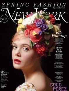Elle Fanning, New York Magazine Spring Fashion issue