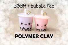 Boba / Bubble Tea Polymer Clay Charm Tutorial!