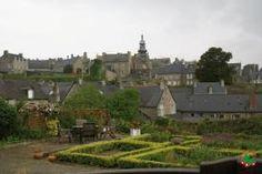 Garden in Moncontour, France