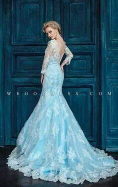 Wedding Dress || Color Board: Frozen || The Wedding & Company