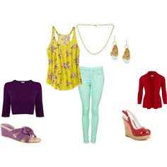 Pick and Choose Floral Spring Set!, created by ladylopez on Polyvore